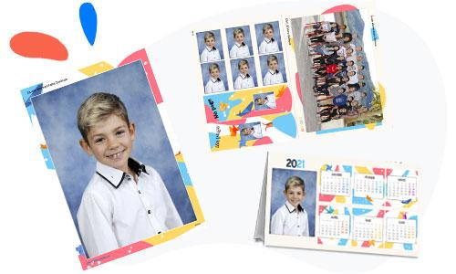 produits dérivés pour les élèves de maternelle et primaire